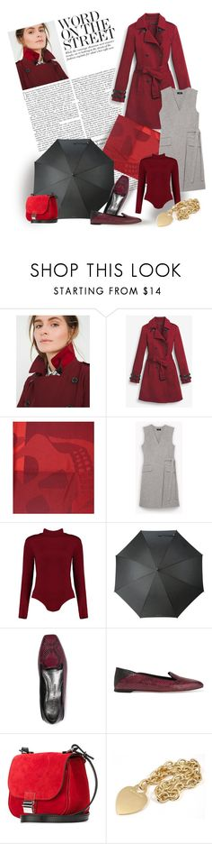 """""""Word on the Street"""" by bb60477 ❤ liked on Polyvore featuring White House Black Market, Alexander McQueen, Boohoo, Kenzo, Proenza Schouler and Tiffany & Co."""