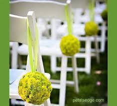 wedding chair decoration - Google Search