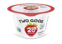 Strawberry Two Good™ Greek Lowfat Yogurt with 2 Grams of Total Sugar Best Greek Yogurt, Greek Style Yogurt, Low Fat Yogurt, Second Best, The Best, Gram Of Sugar, Mixed Berries, Natural Flavors, Packaging