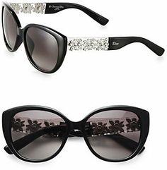 443fd8a3f6d Christian Dior Oversized Metal  amp  Plastic Sunglasses Sunnies Sunglasses