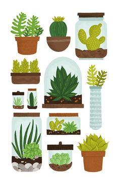 Cacti print.