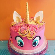 My little pony style unicorn cake