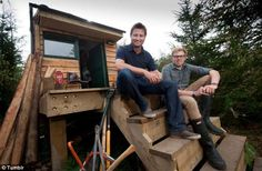 Happier times: The building was featured on George Clarke's Amazing Spaces, on Channel 4, in December last year