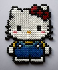 Hello Kitty Hama Beads by GeekyPixels