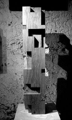 Alban Lanore ,Petite colonne / chêne.