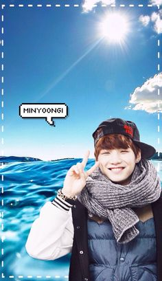 Bangtan Boys (BTS) x Ocean Wallpaper Set