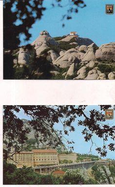 Montserrat, Vistas del Monasterio y de Sant Jeroni. Sin circular