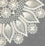 """Crown of pineapples doily, crochet pattern.  This is a lovely pattern, but the website is a pain.  Instead of being able to see the whole pattern at one time, you have to keep hitting """"next"""" to see the next part of the instructions.  You might want to consider copying & pasting the pattern into a Word document of some time."""