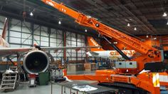 TCA Lifting have sold a 7.5t spider crane to easyJet plc, Europe's leading short-haul airline, for the maintenance of their Airbus fleet.