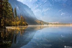 ***Quiet fall afternoon (Almsee, Austria) by Jürgen Brochmann on 500px