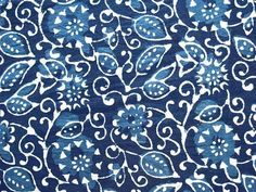 Dabu Mud Resist Printing From Rajasthan (Heritage Trading) Dabu Print, Indian Block Print, Batik Pattern, Indigo Dye, How To Dye Fabric, Surface Pattern Design, Traditional Art, Colorful Backgrounds, Printing On Fabric