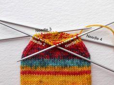 Week 3 Beginner sock knitting: Sockalong - Foot, toe and grafting the toes