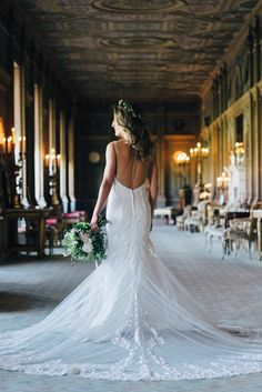 Syon House bridal portrait