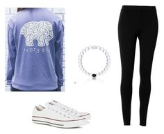 """Untitled #19"" by ciara00brown ❤ liked on Polyvore featuring Max Studio and Converse"