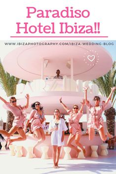 Are you coming to Ibiza for a hen do? Hotel Paradiso in San Antonio Bay should be high up on your list for a fun photo shoot! Party Photography, Free Photography, Ibiza Wedding Venues, Destination Wedding, Wedding Shoot, Wedding Blog, Wedding Dress, Ibiza Holidays, Hotel Ibiza