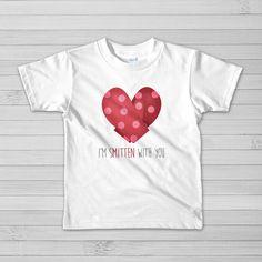 I'm Smitten With You  Kids Fine Jersey Short by ALittleLeafy