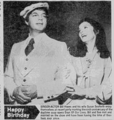 Bill Hayes and Susan Seaforth Hayes, Days of Our Lives