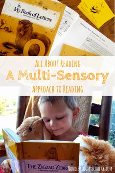 All About Reading: A Multi-Sensory Approach to Reading: Learning to read isn't one size fits all-it's a unique adventure for each child! via @preciouskitty23