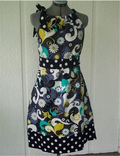 Adult pillowcase dress....actually I want this one,, not sew one.