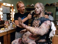 Monster maker, Mark Shostrom on letting your creative soul shine Scary Funny, Funny Horror, Special Makeup, Special Effects Makeup, Best Horror Movies, Scary Movies, Evil Dead Series, Ash Evil Dead, Movie Makeup