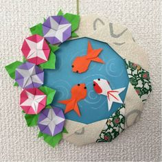 Go to the webpage to see more about Origami Tutorials Origami Simple, Origami Love, Origami Fish, Origami Folding, Origami Flowers, Origami Wreath, Origami Star Box, Paper Crafts Origami, Origami Stars
