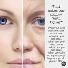"""What makes the enVy® pillow """"anti-aging""""? #goodquestion #lovesleep"""