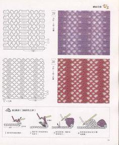 PUNTOS Y PUNTADAS EN CROCHET – Only New Crochet Patterns