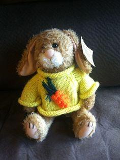 Springtime Keepsake Kritters Corey the Bunny Rabbit NWT 3 and Up Girls 2012 #KeepsakeKritters