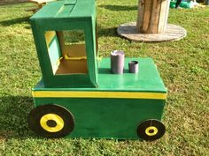 Today I wanted to share the truths behind making a cardboard tractor. I have read many Pinterest articles where parents have made these befo...