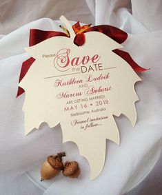 Save The Date Mariage, Rustic Wedding Save The Dates, Wedding Rustic, Fall Wedding Decorations, Fall Wedding Colors, Wedding Ideas For Fall, Autumn Wedding Ideas October, Wedding Centerpieces, Autum Wedding