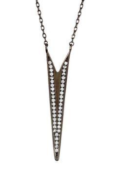 CZ Arrow Pendant Necklace by N' Luxe on @HauteLook