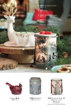 Scentsy holiday and Christmas warmers for 2015 #scentsbykris