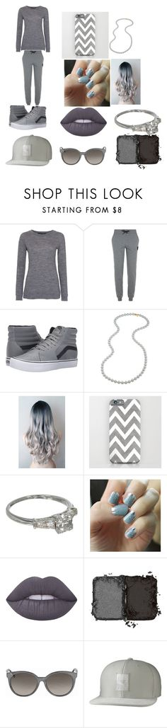 """""""lazy day"""" by puppy-love8569 ❤ liked on Polyvore featuring French Connection, Karl Lagerfeld, Vans, Carolee, SoGloss, Lime Crime, NARS Cosmetics, Gucci and Puma"""