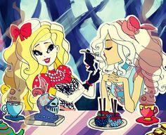Monster High Art, Lesbian Art, Ever After High, Adventure Time, Cute Couples, Princess Zelda, Fan Art, Drawing Ideas, Drawings