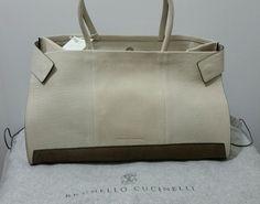 Brunello Cucinelli Italian Artisanal Luxury Chic Minimal & Elegant Bag  NWT$2350 #BrunelloCucinelli #handbagshoulderbag