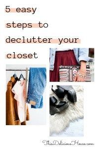5 Easy Steps to Declutter your Closet for Life! Organize, clutter-free, and simplify your closet and life with these 5 easy steps. Complete how to organize your closet guide. Mom Outfits, Summer Outfits, Casual Outfits, How To Organize Your Closet, Cute One Piece Swimsuits, Clutter Free Home, Womens Closet, Konmari Method, Cleaning Closet