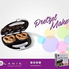 Con Pretzel Maker de #Blanik prepara exquisitos y sabrosos pretzel a tu gusto y endulza los corazones de los más pequeños.  http://ow.ly/Xyn3w