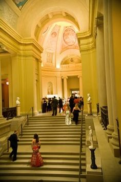 Museum of Fine Arts Boston is a stunning venue for a wedding. MFA wedding.
