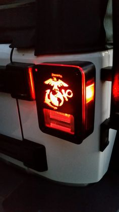 Paw Print Jeep Wrangler Jk Tail Light Guards By Dnajeep