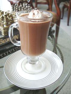 chocolatada!! (Peruvian hot chocolate) You just need a slice of paneton to make it complete. Yum.