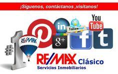 RE/MAX Clásico en las redes sociales!¡Síguenos, contáctanos ,visítanos!¡Contact Us, Visit us! #REMAX Clásico #MADRID http://www.clasico.remax.es/