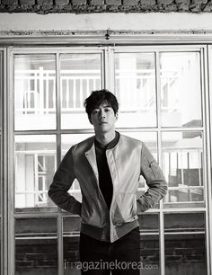 Lee Sang Yoon - Harper's Bazaar Magazine April Issue '16