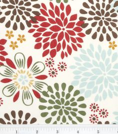 Keepsake Calico Fabric-Kennedy Floral Multi I think I want this to make curtains for my living room and kitchen. Fabric Yarn, Fabric Crafts, Cotton Fabric, Quilting Fabric, Fabric Shop, Baby Fabric, Quilting Ideas, Diy And Crafts, Arts And Crafts