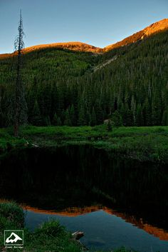 Alpenglow Reflection by isaac.borrego, via Flickr; Taos Ski Valley, New Mexico