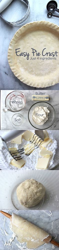 Easy Pie Crust - ste