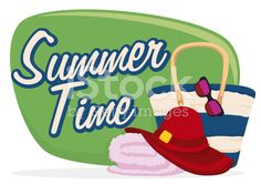 Fashion Beach Bag, Sunglasses, Towel and Hat for Summertime Burger King Logo, Free Vector Art, Summertime, Badge, Towel, Purses, Sunglasses, Hats, Beach