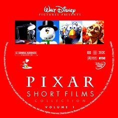 "Pixar computer Animation - Short Films Collection DVD documentary (23 min). Worksheets from ""Learn to Draw Celebrated Characters Collection"" from Disney (more a elementary level)"