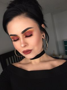 Burnt orange matte Eyeshadow