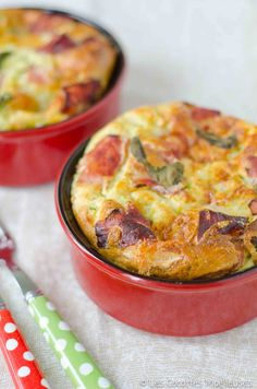 clafoutis salé courgettes et chevre, Quiches, Omelettes, Vegetarian Recipes, Cooking Recipes, Healthy Recipes, Cocotte Recipe, Salty Foods, Cooking Time, Food Inspiration