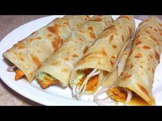 Chicken Paratha Roll recipe_Chicken tikka paratha roll recipe_Homemade paratha roll recipe - YouTube